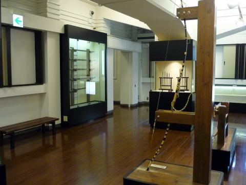 大垣城の展示物