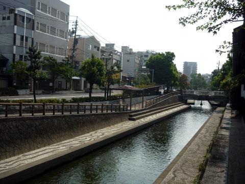 大垣城の水堀跡
