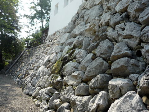 大垣城の石垣