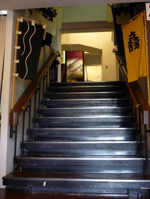 大垣城の階段