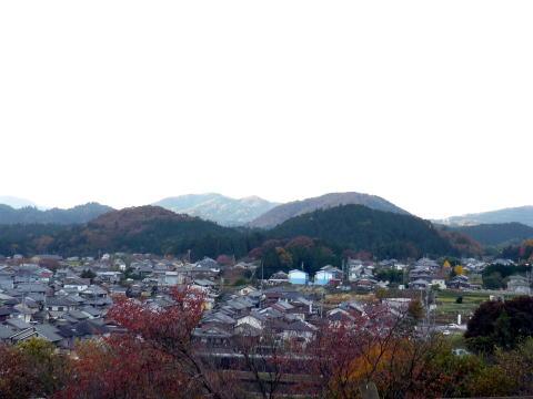岡山烽火場からの景色