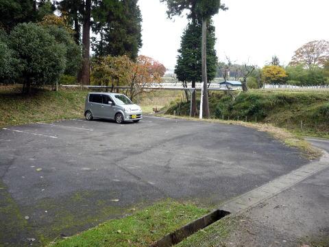 松尾山の駐車場