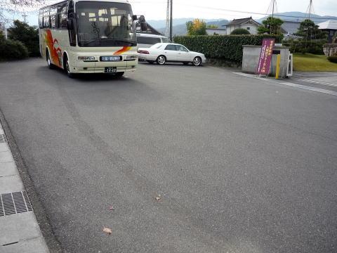 関ヶ原の東首塚駐車場