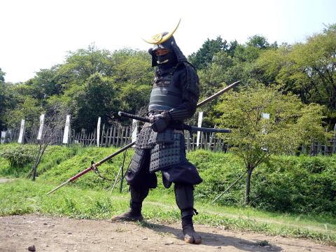 関ヶ原の甲冑武者