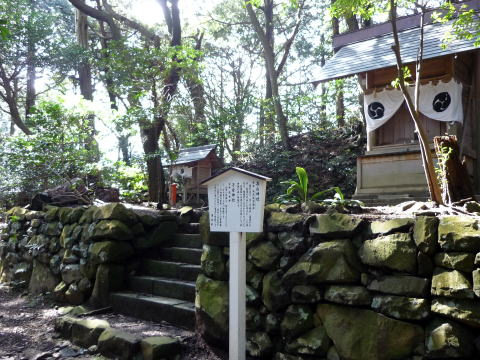 高山神社と子安神社